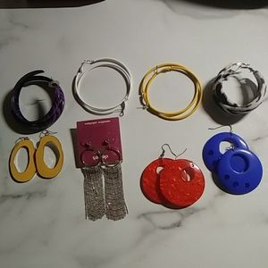 Retro earring lot